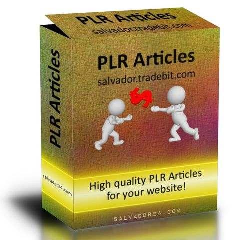 View 1106 medicine PLR articles in my tradebit store