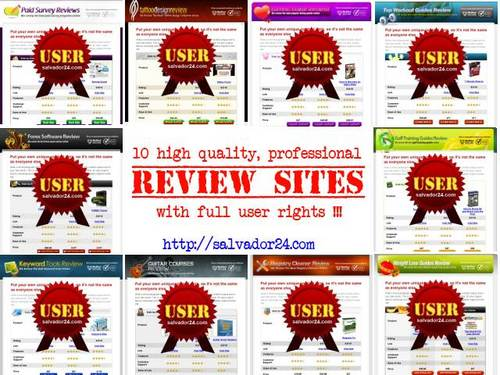 Pay for Professional Review Site Collection (10 Sites, USER Rights)