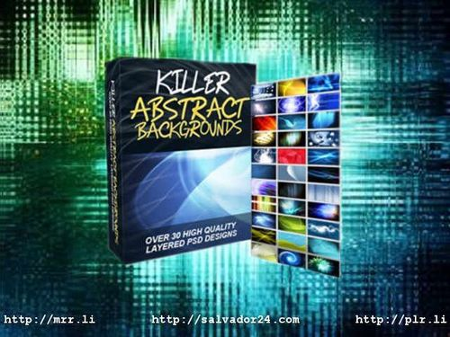 View Killer Abstract Backgrounds v1 in my tradebit store
