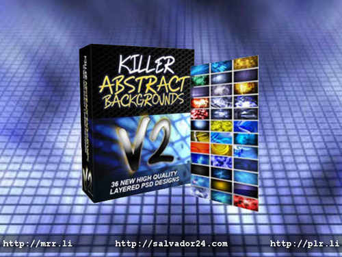View Killer Abstract Backgrounds v2 in my tradebit store