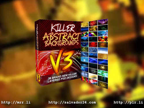 View Killer Abstract Backgrounds v3 in my tradebit store