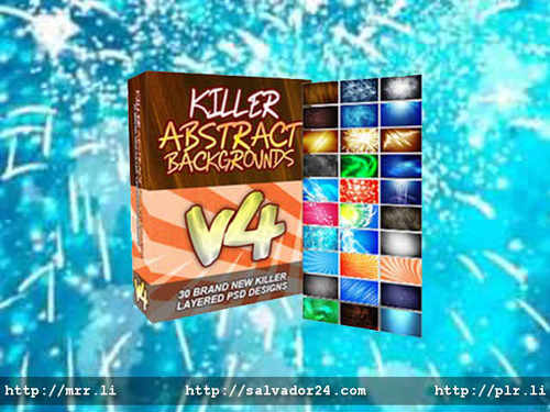 View Killer Abstract Backgrounds v4 in my tradebit store