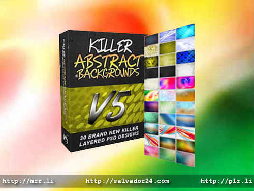 View Killer Abstract Backgrounds v5 in my tradebit store