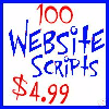 Thumbnail 100 Website Scripts CGI Plus Resell