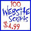 Thumbnail 100 Website Scripts CGI Plus Resell