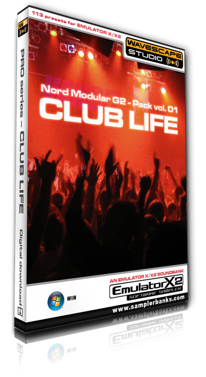 Pay for DJ samples - Club Life - E-MU Emulator X/X2 format