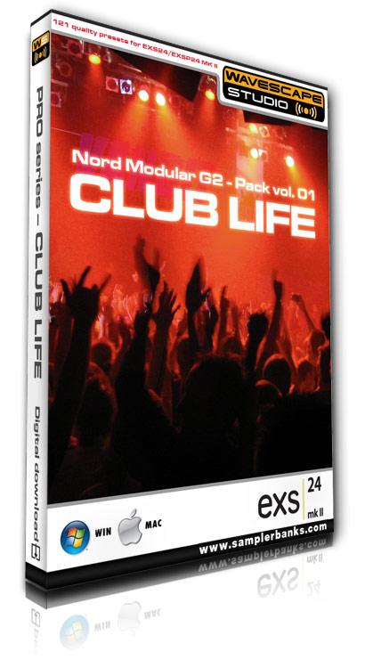 Pay for DJ samples - Club Life - Apple EXS24 mk2  format