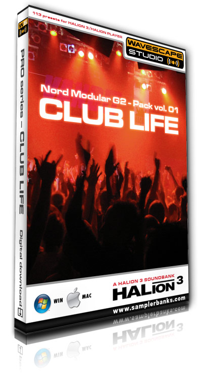 Pay for DJ samples - Club Life - Steinberg HALion 3  format