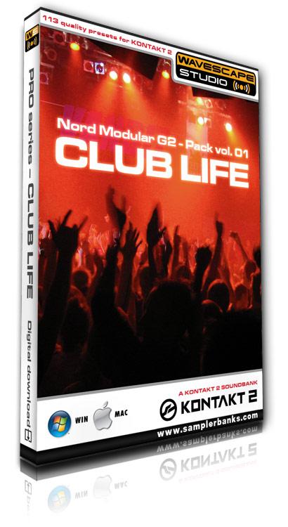 Pay for DJ samples - Club Life - Kontakt 2/3 format