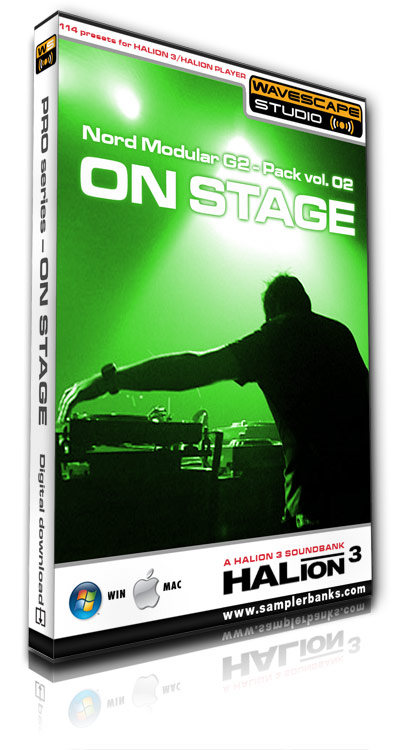 Pay for DJ samples - On Stage - Steinberg HALion 3  format