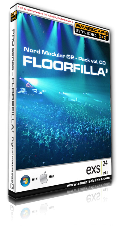 Pay for DJ samples  - Floorfilla  - Apple EXS 24 mk2 format