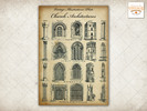 Thumbnail Vintage Images / Illustrations Plate: Church Architectures