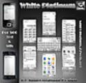 Thumbnail Symbian S60 Theme: White Platinum
