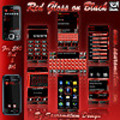 Thumbnail Symbian Theme: Red Gloss on Black