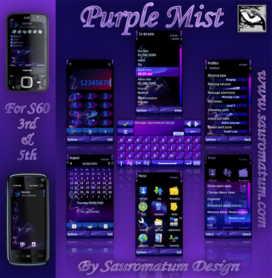 Pay for Purple Mist Theme