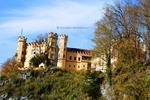 Thumbnail Hohenschwangau Castle  in autumn, Overview , Fussen Germany