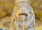 Thumbnail Lions fountain at Hohenschwangau Castle,foreground of a lion