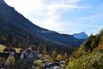 Thumbnail Hohenschwangau Resort with mountain landscape, Germany