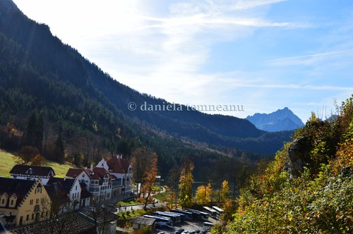 Pay for Hohenschwangau Resort with mountain landscape, Germany
