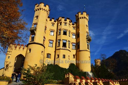 Pay for Hohenschwangau Castle rear entrance, Bavaria, Germany