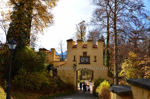 Pay for Hohenschwangau Castle rear entrance, Bavarian Code of Arms