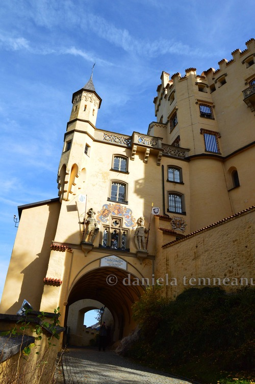 Pay for Hohenschwangau Castle, Bavarian Code of Arms, Germany