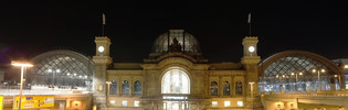 Thumbnail mainstation Dresden at night