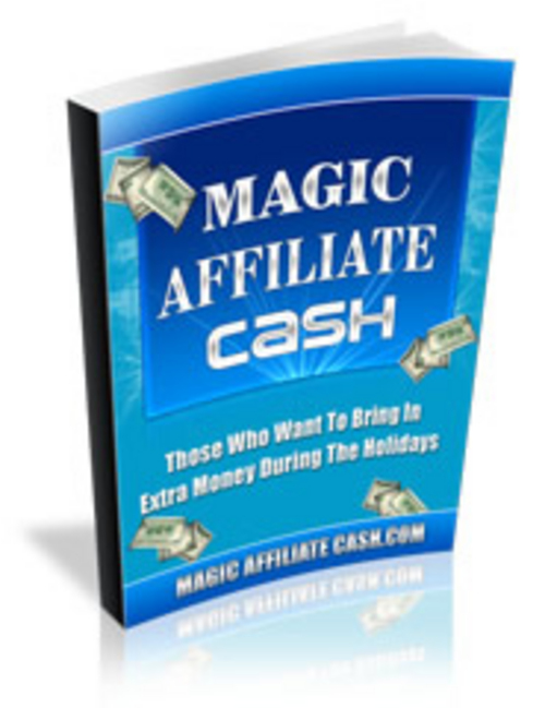 Pay for Magic Affiliate Cash