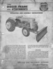 Thumbnail Ford 19-80 Dozer Frame and Attachments - Owners Manual