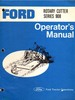 Thumbnail Ford 908 Series Rotary Cutter - Operators Manual