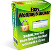 Thumbnail Easy WEBPAGE-LOCKER Deutsch - Passwortschutz MRR