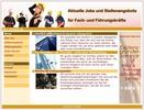 Thumbnail Kleine Job-Agentur Webseite mit MRR-Lizenz