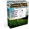 Thumbnail LANDING PAGES Vielzweck-PACK inklusive PLR mit DEMO
