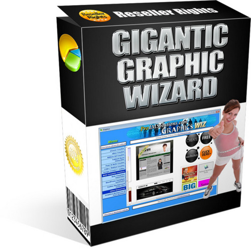 Pay for GIGANTIC GRAPHICS WIZARD inkl. Master-Reseller-Rights
