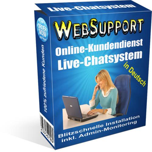Pay for WebSupport LiveChatsystem inklusive MRR
