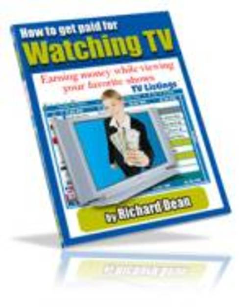 Pay for Get Paid To Watch TV (EBOOK)