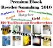 Thumbnail Reseller Sammlung mit 120 Ebooks aus verschiedenen Bereichen