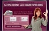Thumbnail Gutschein & Warenproben Portal mit PayPal Zahlungssystem