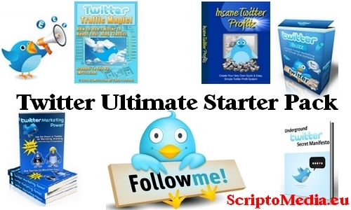 Pay for Twitter Ultimate Starter Pack - Premium Edition 2011