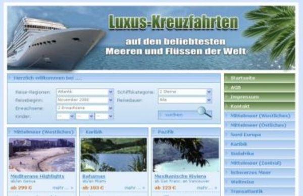 Pay for PHP Kreuzfahrten Script inkl. Partnerprogramm