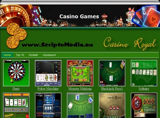 casino flash script