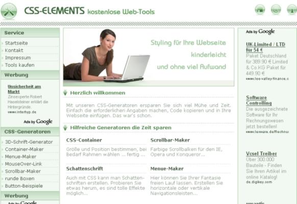 Pay for CSS - Content Webprojekt für Webmaster