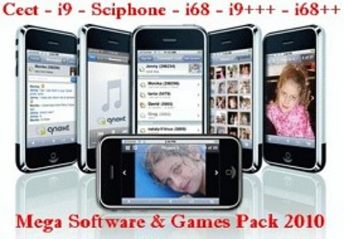 Pay for Mega Software & Game Pack for Cect i9, Sciphone, i68