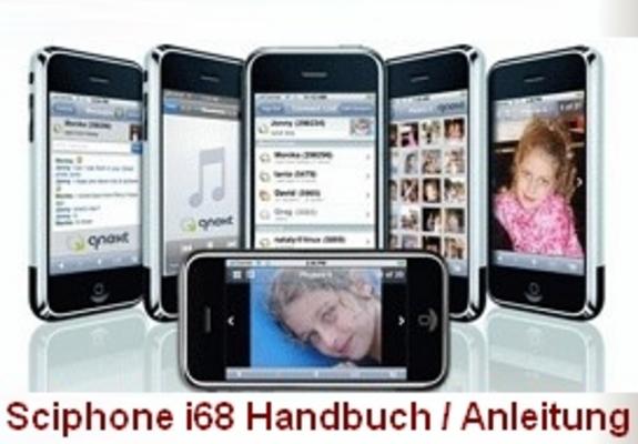Pay for Sciphone i68 Handbuch - komplett auf deutsch!