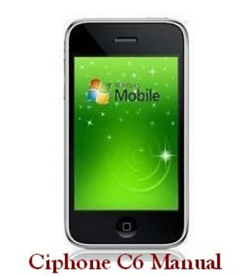 Pay for CiPhone C6 english Manual PDF Guide