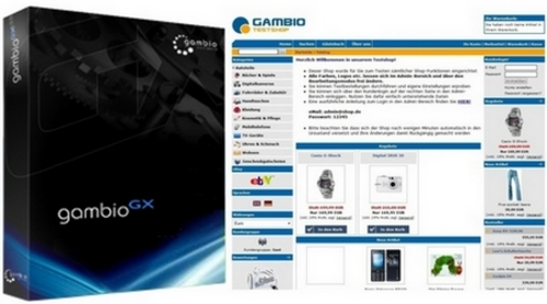 Pay for Gambio GX 1.14 Onlineshop System inkl. Handbuch