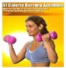 Thumbnail ebook on calorie burning activities
