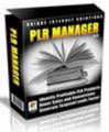 Thumbnail PLR Manager (Comes with Master Resale Rights! )