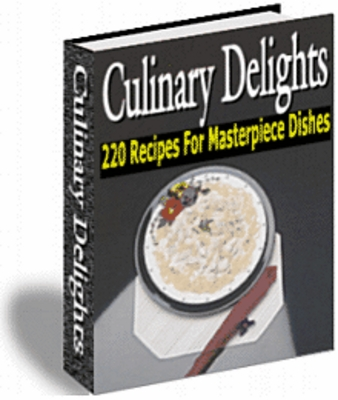 Pay for 220 Recipes for Masterpiece Dishes