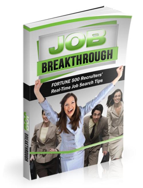 BREAK / THROUGH ventures - Jobs